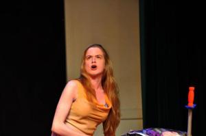 "Shannon Walsh in ""A Midsummer Night's Dream"""